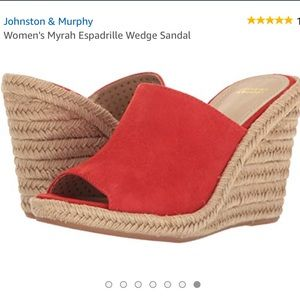 New Johnston and Murphy Myrah espadrille size 9